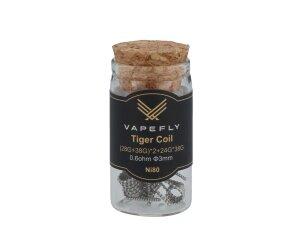 Vapefly Ni80 Tiger Coil (28GA+38GA)*2+24GA*38GA 0,6 Ohm (6 Stück pro Packung)