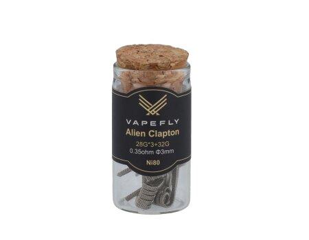 Vapefly Ni80 Alien Clapton Coil 28GA*3+32GA 0,35 Ohm (6 Stück pro Packung)