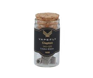 Vapefly Ni80 Clapton Coil 24GA+32GA 0,4 Ohm (6 Stück pro Packung)