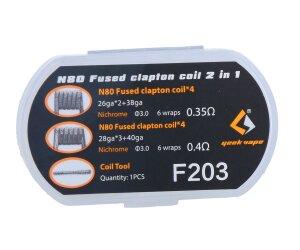 Geekvape N80 Fused Clapton Head 2 in 1 Set